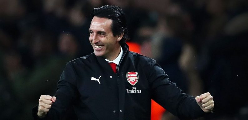 Unai Emery offers thoughts on Arsenal-Tottenham Carabao Cup clash