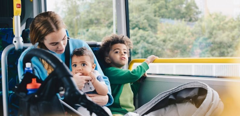 Mum is slammed for not making kids give OAP seat on bus – but was she right?