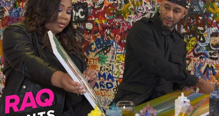Swizz Beatz Auctioning Off Painting to Raise Funds For Children in Need
