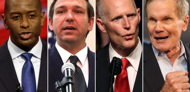 Florida elections in limbo as possible recount looms
