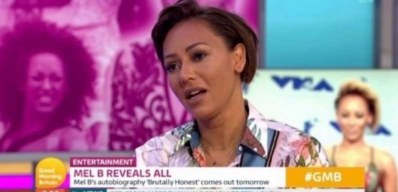 Mel B's furious reaction after Stephen Belafonte is given 'platform' for denial