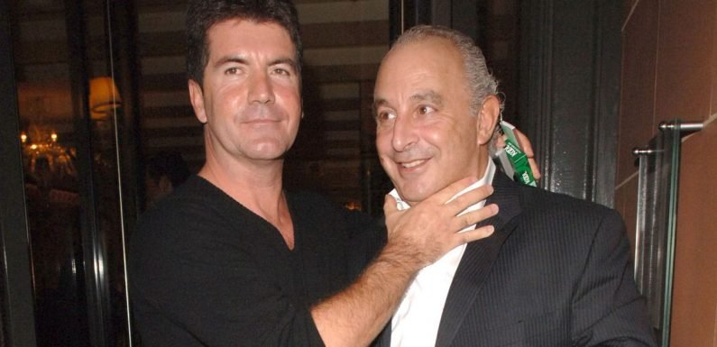 Simon Cowell cuts ties with former friend and 'toxic' tycoon Sir Philip Green
