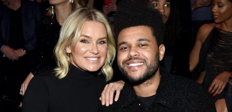 You Better Believe The Weeknd Showed Up to Support Bella Hadid at the VS Fashion Show