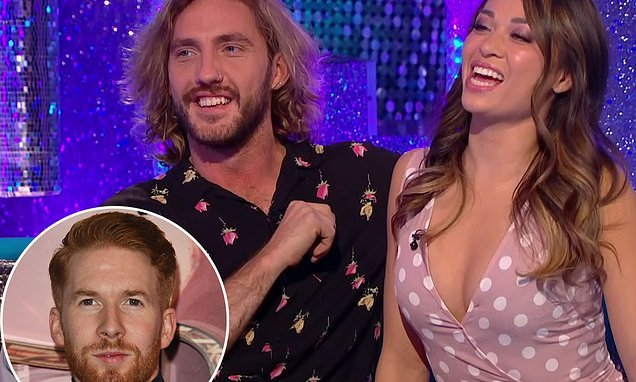 Neil Jones 'likens Seann Walsh to a 'scab' after THAT kiss with Katya'