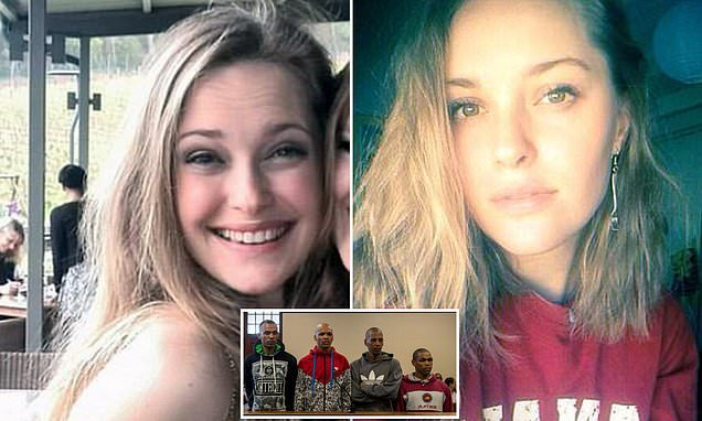 Three men found guilty of rape and murder of student in South Africa