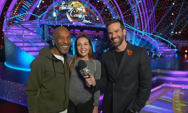 Strictly: Danny John-Jules and Amy Dowden set record straight