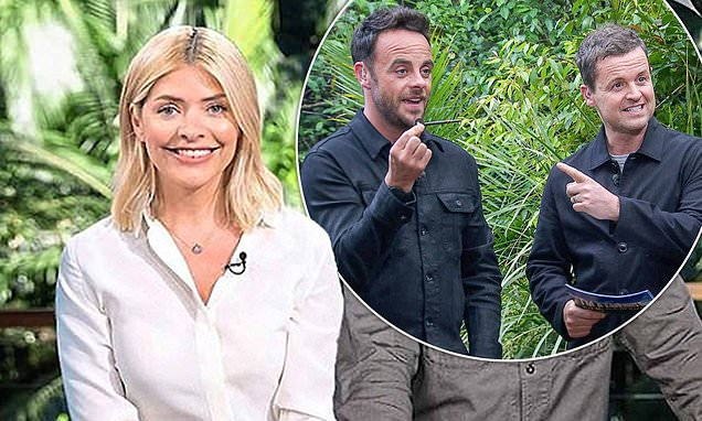 Holly Willoughby insists Ant McPartlin WILL return to host I'm A Celeb