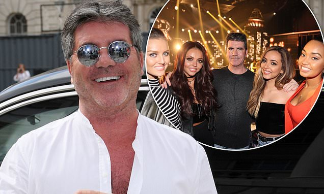 Simon Cowell reveals 'NEVER fell out' with Little Mix amid Syco split
