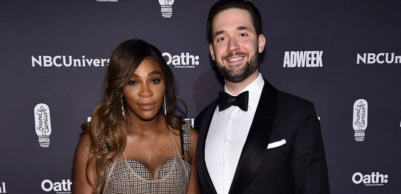 We're Gawking at Serena Williams and Alexis Ohanian Together at the Brand Genius Awards