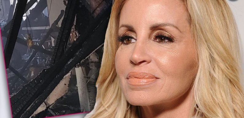Camille Grammer Shares Photo Of Burned Down Home After Death Of Longtime Assistant