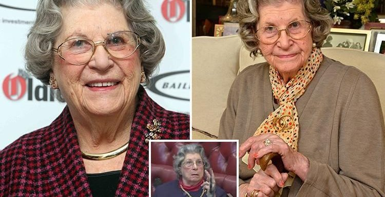 Who was Baroness Trumpington and what was the Bletchley Park codebreaker's book about?