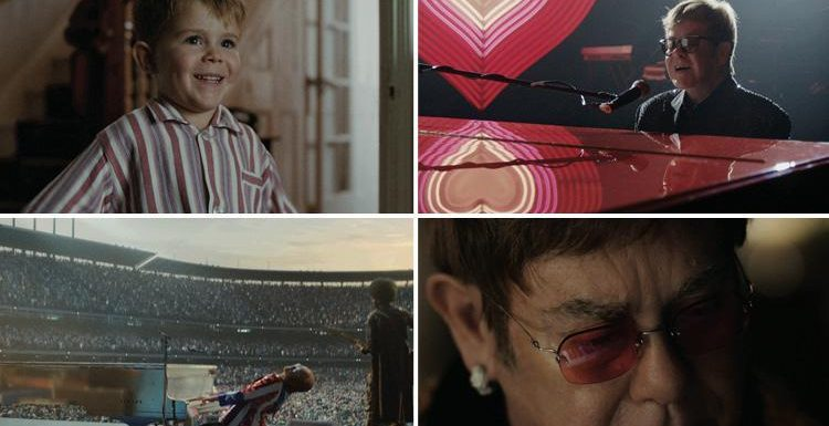 Elton John Christmas Song.John Lewis Christmas Advert 2018 Featuring Elton John And