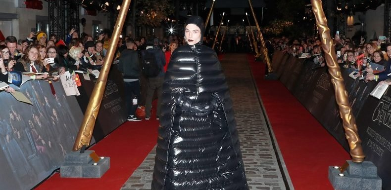 Ezra Miller's Puffer Coat Gown Has No Use For Binaries