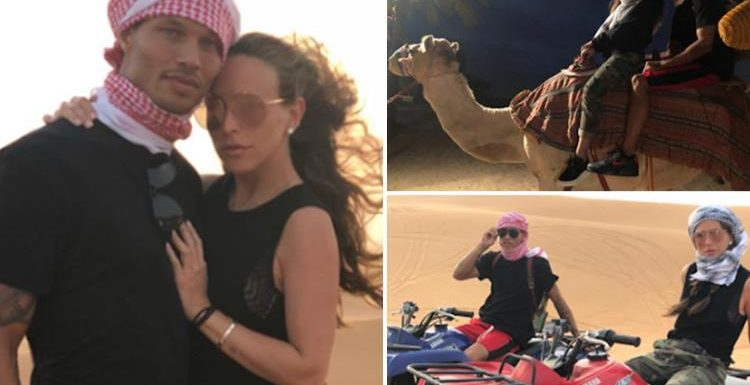 Inside Chloe Green and Jeremy Meeks' luxury Dubai getaway with camel riding and dune buggies