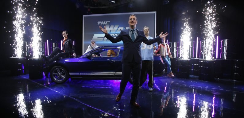 John Oliver Remade 'Fast and the Furious' with Armie Hammer and Wax Presidents