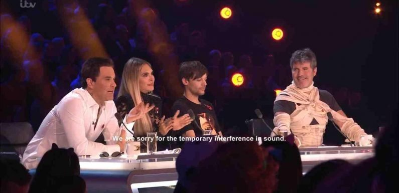 X Factor gets lowest ratings of all time as fed up fans turn off after huge sound blunders during pre-recorded show
