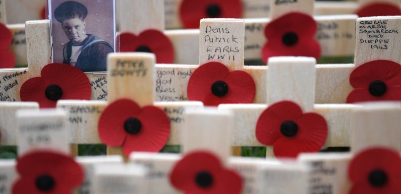 When was the 2018 Remembrance Day parade and Cenotaph service?