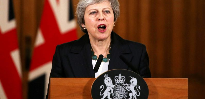 Who has written no confidence letters against Theresa May and how far off 48 are they?