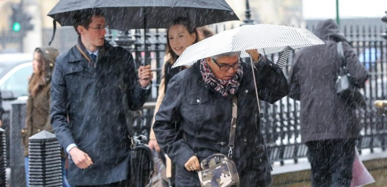 UK set for extreme weather with Storm Diana forecast to bring heavy rain and strong winds, Met Office warns