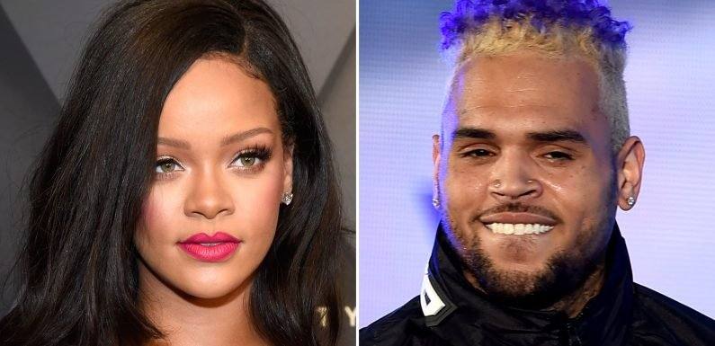 Rihanna and Ex Chris Brown Are Still 'in Frequent Contact'