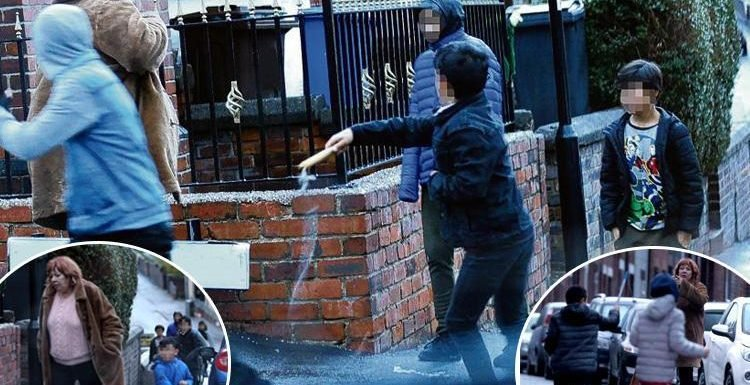 How gangs of Roma children 'surround residents' on the streets of Sheffield in city blighted by gangs with groups 'boozing in the street'