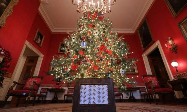 Why Are Melania Trump's Christmas Decorations Getting So Much Hate?