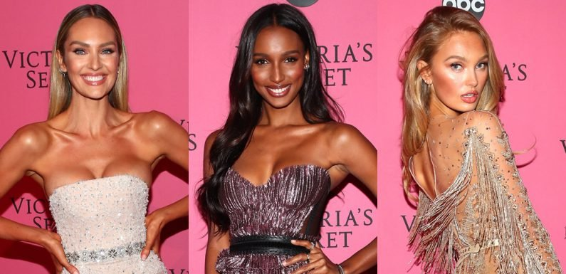 Candice Swanepoel Joins the VS Angels at Fashion Show After Party!