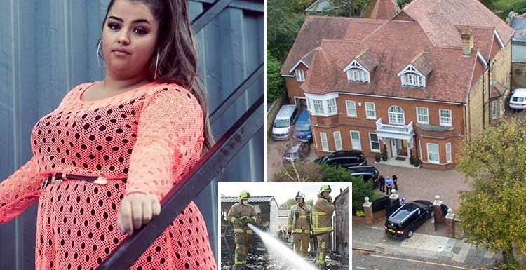 Scarlett Lee fears for her life in £7m X Factor house after horrific caravan fire where she thought her brother was 'dying from a seizure'