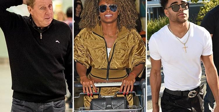 I'm A Celebrity stars Fleur East, Malique Thompson-Dwyer and Harry Redknapp land in Australia as they prepare to enter the jungle