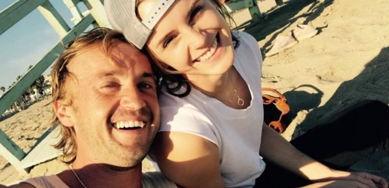 Emma Watson and Tom Felton Had the Sweetest Harry Potter Reunion at the Beach