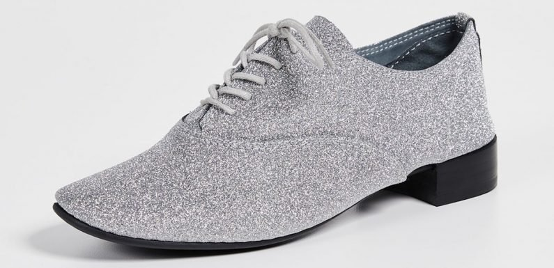 Put On Your Dancing Shoes With These 17 Glittery Pairs