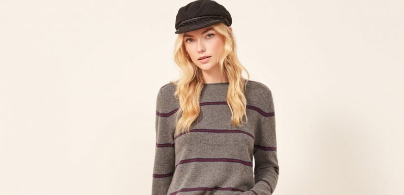 Need a New Fall Wardrobe Staple? Try a Striped Sweater