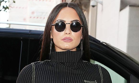 Demi Lovato Holds Hands With Henri Alexander Levy On Post-Rehab Dinner Date: New Couple?