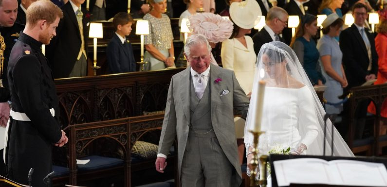 Prince Harry Opens Up About Wedding Day Drama with Prince Charles and Thomas Markle