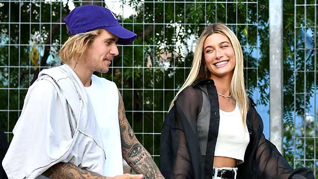 Justin Bieber & Hailey Baldwin Kiss While Celebrating Her Bday & Thanksgiving With Their Families