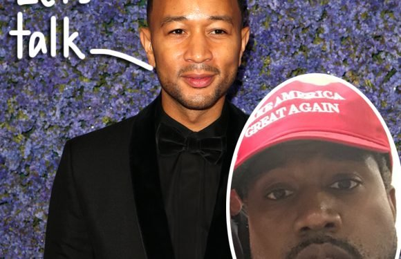 John Legend Gets Candid About Calling Out Kanye West For His Trump Endorsement!