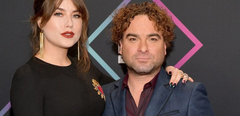 Johnny Galecki, 43, and girlfriend, 21, make red carpet debut