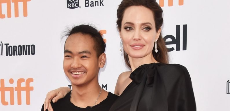 Angelina Jolie Spotted on College Visit with Son Maddox in South Korea!