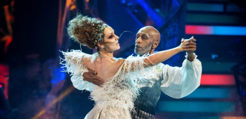 Strictly stars Danny John-Jules and Amy Dowden make up after disagreement