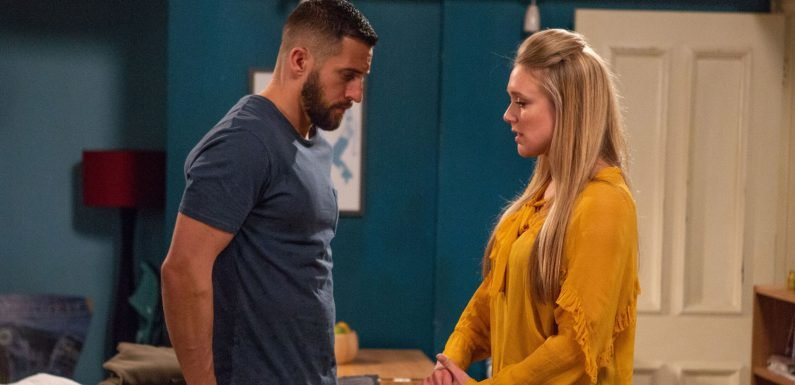 Emmerdale's Ross Barton makes shock exit decision tonight after Rebecca White's change of heart