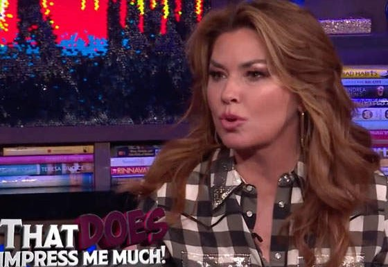 Open Post: Hosted By Shania Twain Admitting She's Pulled A Fergie