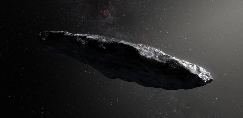 Interstellar asteroid could be 'alien' mission searching for life