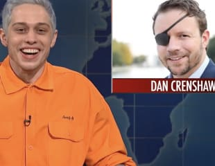 Pete Davidson Mocks Disabled Veteran, Gets Defended By Absolutely Nobody