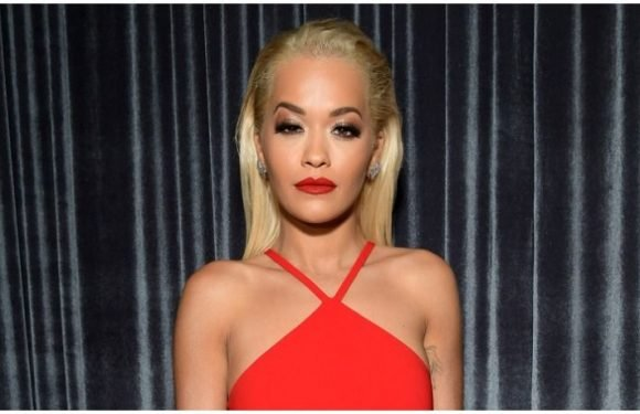 Rita Ora Busts Out Of See-Through Dress In London