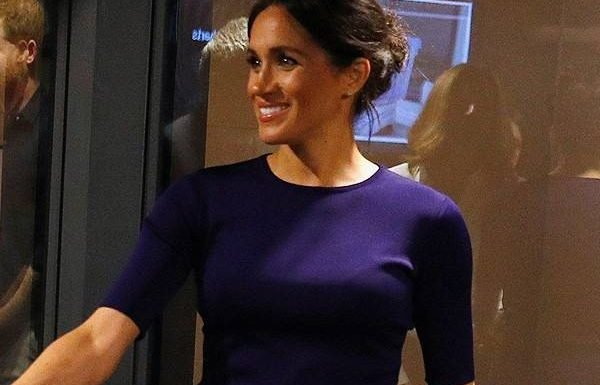 Meghan Markle Ends Royal Tour With a See-Through Skirt
