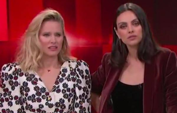 Kristen Bell and Mila Kunis Beg Channing Tatum to Strip for Charity
