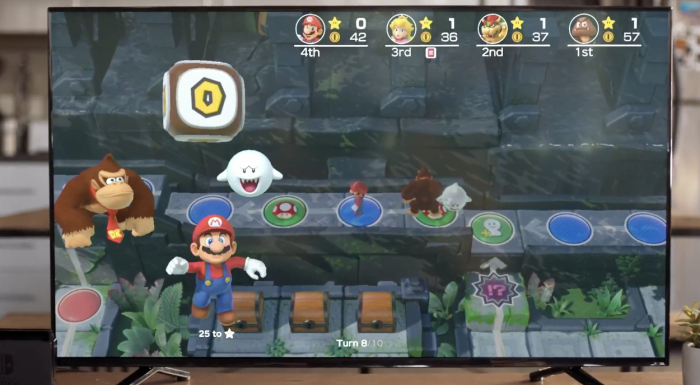'Super Mario Party' Nintendo Switch Bundle Includes Neon Green and Yellow Joy-Cons