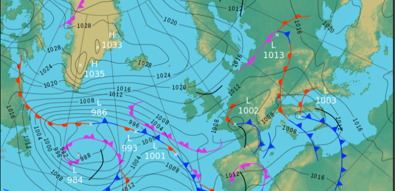 Sunday's UK weather forecast — cloudy and feeling chilly in the breeze with showers in north of England, southern Scotland