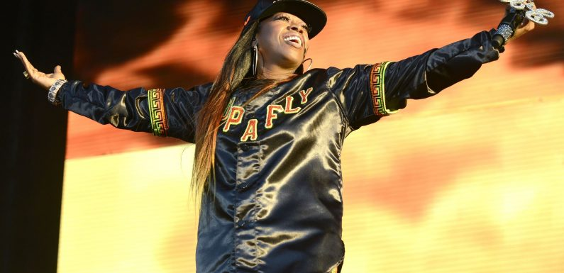 Missy Elliott becomes the first female rapper nominated for the Songwriters Hall of Fame