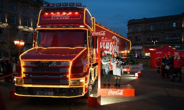 It'll be lonely this Christmas without the Coca-Cola truck